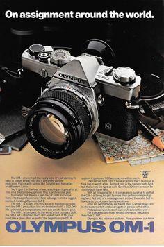 Olympus SLR ad 1980