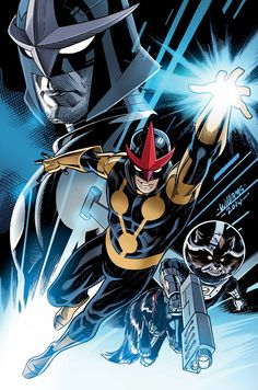 NOVA #20 Cover by David Williams