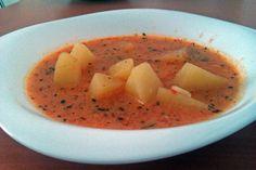 Supa de cartofi Supe, Cantaloupe, Fruit, Food, Recipes, Essen, Meals, Yemek, Eten