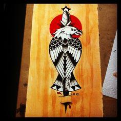 american traditional tattoo eagle - Google zoeken