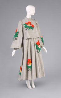 Dress and Jacket Made in Japan1973 Designed by Kansai Yamamoto, Japanese, born 1944