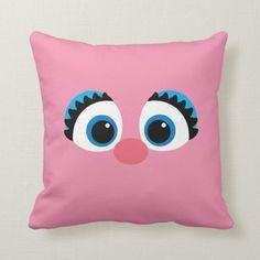 Shop Abby Cadabby Big Face Throw Pillow created by SesameStreet. Elmo Party, Dinosaur Party, Mickey Party, Elmo Birthday, Dinosaur Birthday, Sesame Street Crafts, Abby Cadabby, Big Face, Sesame Street Birthday
