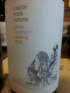 #CastleRock #GreatSouthern #Riesling 2008  (#RNAWA13)