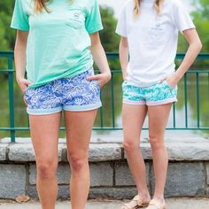 Enjoy the beautiful summer days while sporting equally as beautiful Brighton shorts from Shop the link in our bio today! Preppy Men, Preppy Style, My Style, Preppy Outfits, Spring Summer Fashion, Nice Dresses, Casual Shorts, Polo Shirt, Southern Marsh