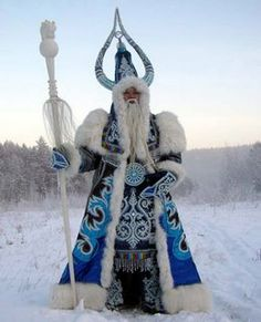 Represents my Color Wheel and is the Snow King of Oymyakon, Russia.