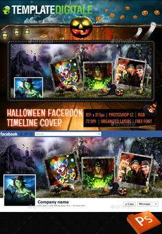 Halloween Facebook Timeline, Sfondo Facebook