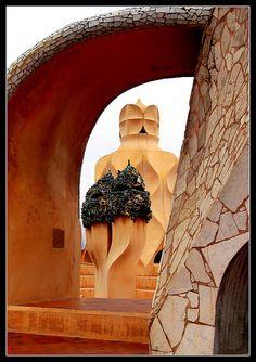 LA PEDRERA BARCELONA ( GAUDI ) | Azotea de la Pedrera | Mª JOSE | Flickr