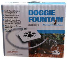 NEW Doggie Fountain - the Koolinator - Model F1