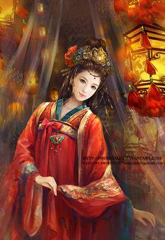 Bride by ~phoenixlu on deviantART