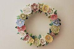 Jill Ruth & Co.: Vintage Inspired Wreath
