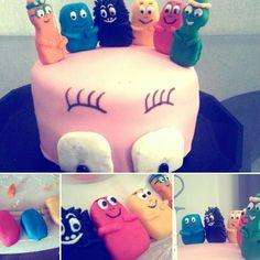 Barbapapa cake design by Smyli.K. #cake #barbapapa #design