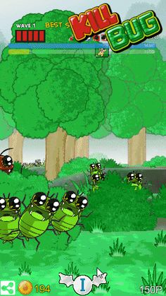 Kill Bug v2.11 Update.  https://play.google.com/store/apps/details?id=com.silgam.killBugGP  How to do combination attack!   #killbug #gamedev #indie #bug #虫 #キルバグ