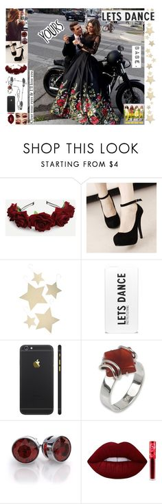 """""""Love me like you - Little Mix 🥀"""" by marta-cassiano-santos ❤ liked on Polyvore featuring Bethany Lowe, NOVICA, Lime Crime and Prom"""