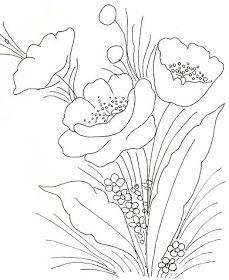 riscos ,moldes, desenhos de flores , para pintura em tecido ,madeira,artesanato
