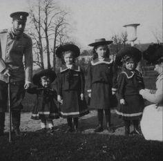 Nicholas, Alexei., Tatiana, Olga and Maria