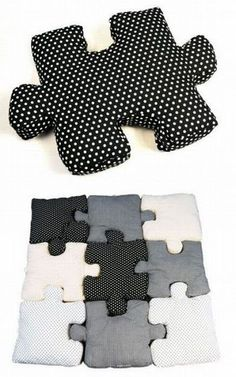 Puzzle Pillows :)