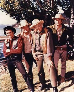 David canary. Dan Blocker. Lorne Greene. Michael Landon.  YES!! I love Bonanza!!!! :) Can't get enough....