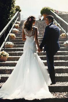a beautiful wedding in Lake Garda
