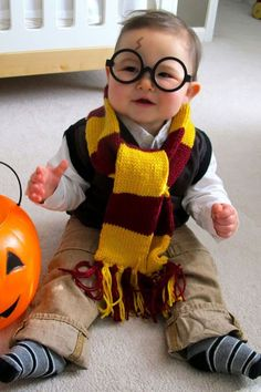 628d82d5ef8 Harry Potter Baby Halloween Costume from Love and Lion. More Creative Baby  Halloween Costume Ideas on Frugal Coupon Living. SmartBuyGlasses