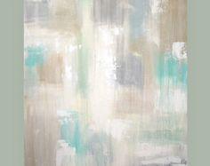 Abstract schilderij originele kunst op Canvas door OraBirenbaumArt