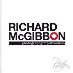 Logo for Richard McGibbon Photography and Journalism Melbourne, Australia