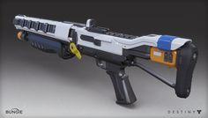 ArtStation - Destiny - Shotgun, Mark Van Haitsma