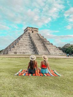 Best Ruins to Visit in Mexico's Yucatan Peninsula ‹ Tripping with my Bff - Chichén Itzá Cancun Vacation, Mexico Vacation, Mexico Travel, Cruise Vacation, Disney Cruise, Vacation Destinations, Tulum Beach, Destin Beach, Destin Florida
