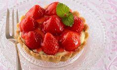 Erdbeertörtchen / Erdbeertartelettes   Sanella
