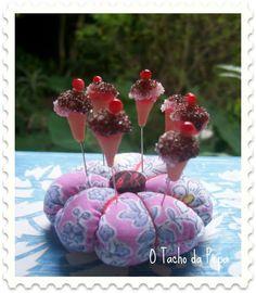 Ice Cream Pincushion, by Pepa