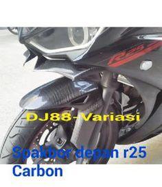 Spakbor depan carbon kevlar yamaha r25 | dj88 variasi | modifikasi r25 mt25 | yroi