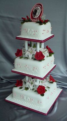 how to stack wedding cakes in nigeria tier wedding cake 3 1 ideas wedding tier 16178