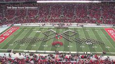 """A New Birth of Freedom"" - The Ohio State University Marching Band: Gettysburg Address & JFK anniversaries (Nov. 23, 2013)"