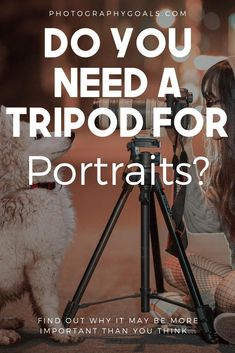 One of the portrait photography tips you don't hear enough is to go get a good tripod. You my think it's not important for taking creative portraits of people but even if it's not a self portrait.here are 7 reasons why you need a tripod. Outdoor Portrait Photography, Outdoor Portraits, Free Photography, Photography Lessons, Amazing Photography, Learn Photography, Night Photography, Family Photography, Travel Photography