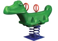 Gorilla Playsets 29-5013 Alligator Spring Rider