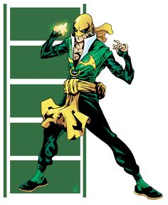 Iron Fist by Edi Torres Marvel And Dc Characters, Comic Book Characters, Marvel Heroes, Comic Books Art, Comic Art, Iron Fist Marvel, Marvel Comic Universe, Comics Universe, Luke Cage