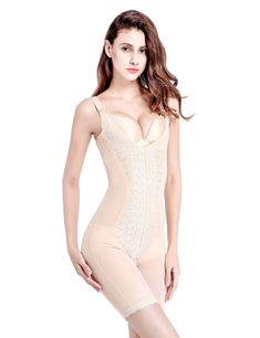 f53f2e271a Sobefie Womens Full Body Shaper Firm Control Slimming Bodysuits Shapewear  Breathable Skin     Check out the image by visiting the link.