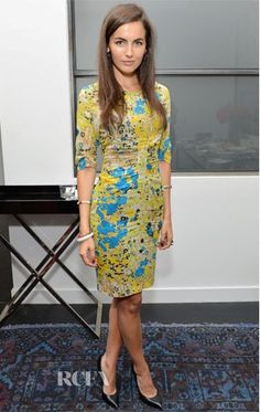 Who: Camilla Belle  Whom: Whistles 'Wild Meadow'  Where: Women's Filmmaker Brunch at 2012 Tribeca Film Festival  Why: She has a face which can be immaculate and at the same time uber jaw-dropping sexy and with a high street choice which is perfect for a brunch, she deserves the day !  P.S - The hair can be excused.. sshh.