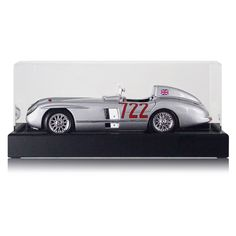 Sir Stirling Moss Signed Model Car: Mercedes-Benz 300 SLR In Display Case -- Awesome products selected by Anna Churchill