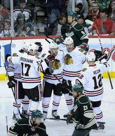 Wild vs. Blackhawks - 05/13/2014 - Chicago Blackhawks - Photos