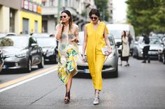 60 Head-To-Toe-Amazing Street Style Snaps From Milan Fashion Week #refinery29  http://www.refinery29.com/2015/09/94857/milan-fashion-week-spring-2016-street-style-pictures#slide-46  When it's okay to resemble a banana....