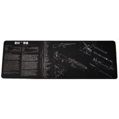 UAG Gunsmith & Armorer's Cleaning Work Tool Bench Gun Mat For The M14 M1A Rifle