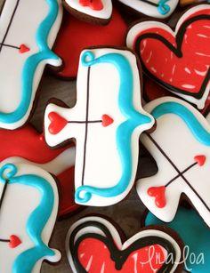 LilaLoa: Uređena Amor pramcu kolačiće za Valentinovo