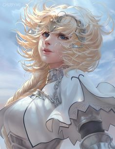 ArtStation - Jeanne d'Arc fate, Chuby Mi