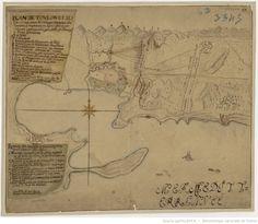 Plan de Toulon et ses environs, avec les retranchements des ennemis, campements…