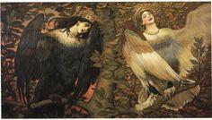 Sirin and Alkonost The Birds of Joy and Sorrow - Viktor Vasnetsov