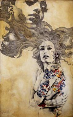 Cuando la imperfección se vuelve belleza... Gabriel Moreno