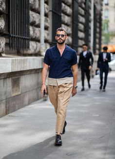 Most Stylish Men, Stylish Mens Fashion, Stylish Mens Outfits, Mens Fashion Week, Men's Fashion, Paris Fashion, French Street Fashion, Cool Street Fashion, Men Sunglasses Fashion