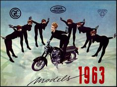 1963 Jawa Motorcycles beatnik dance | Flickr - Photo Sharing!