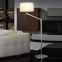 Elegancka lampa stojąca ATLAS biała bezpieczne & wygodne zakupy w sklepie internetowym Lampy.pl.