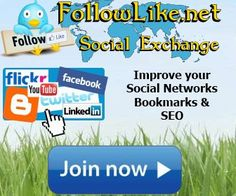 FollowLike.net a is another useful website for bloggers & social promoter.